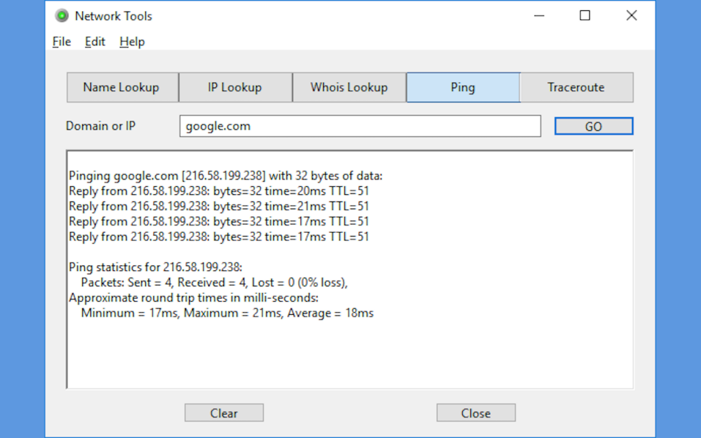 Network Tools - Windows Version