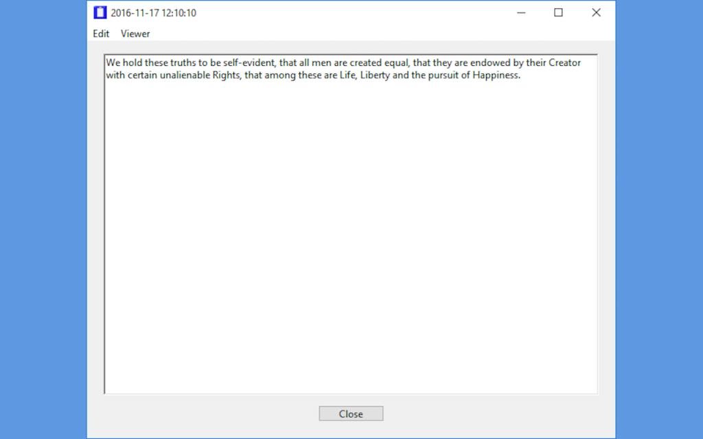 Text Viewer - Windows Version